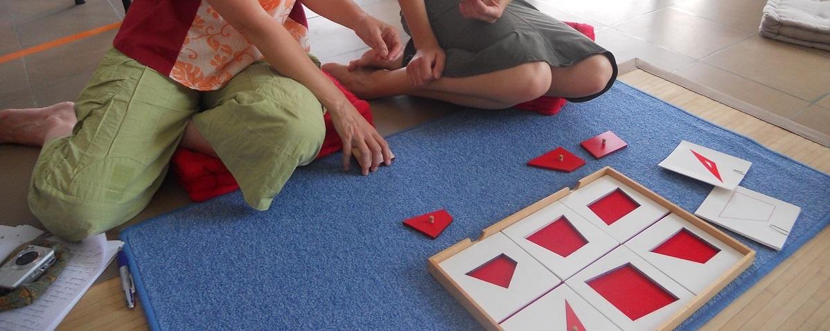 travaux pratiques stage formation montessori