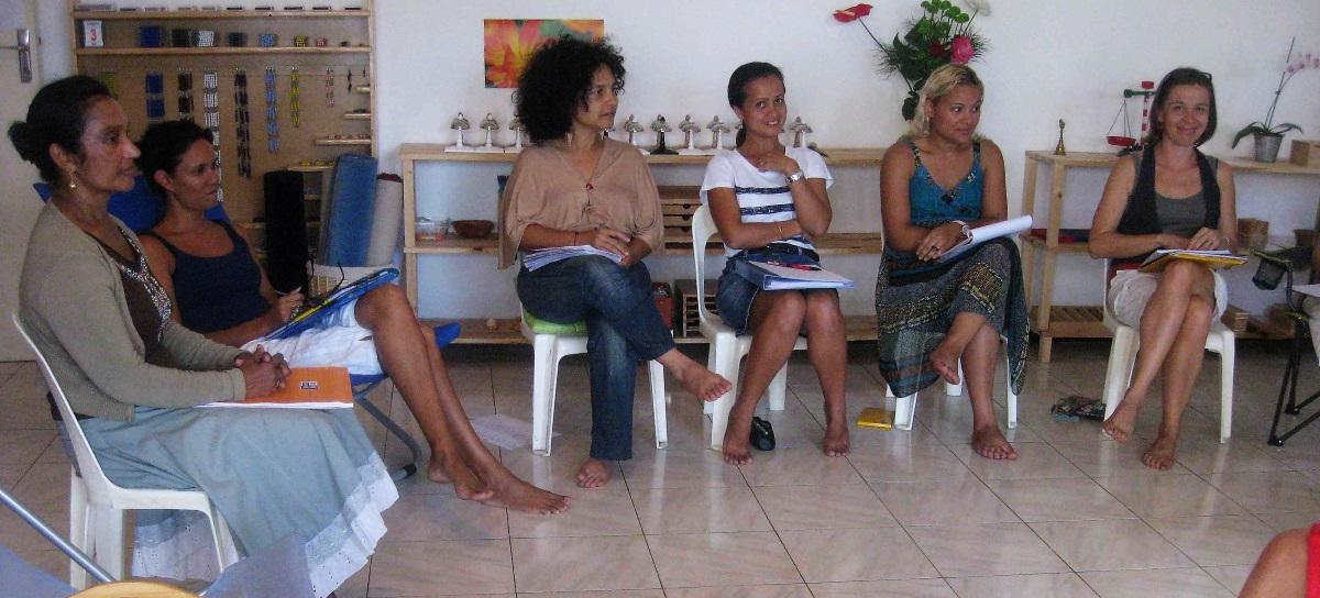 stage formation montessori la réunion