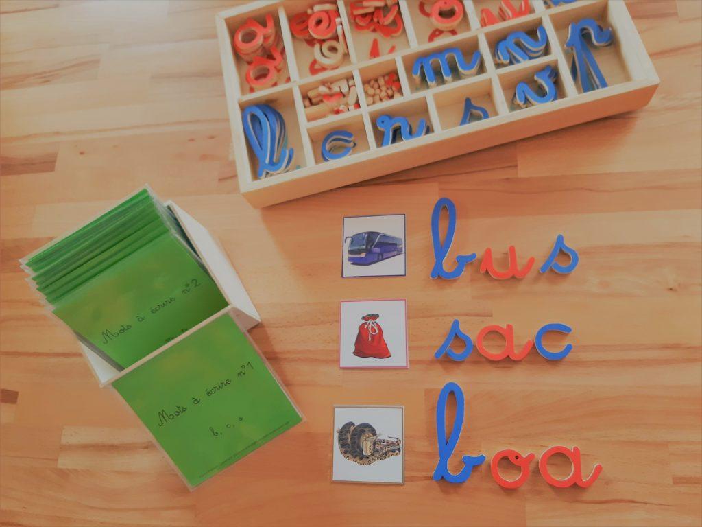 encoder mots montessori